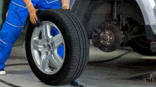正しいタイヤの取り付け方